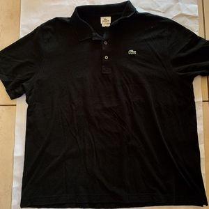 Black Lacoste Polo Size 9